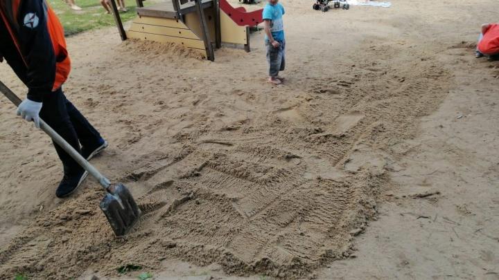 Детские площадки на Щелоковском хуторе сделали безопасными (после публикации на NN.RU)