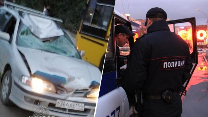 В Ленинском районе «Ниссан» на скорости сбил пешехода