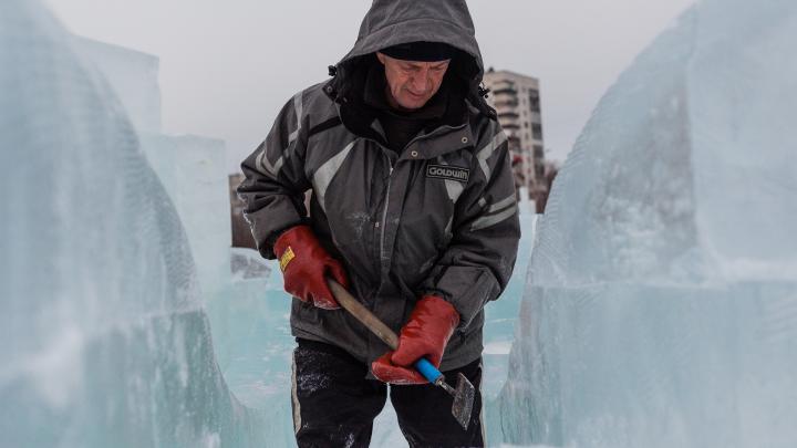 «Байконур» и «Марсианский сад»: в Перми построят космические ледовые фигуры