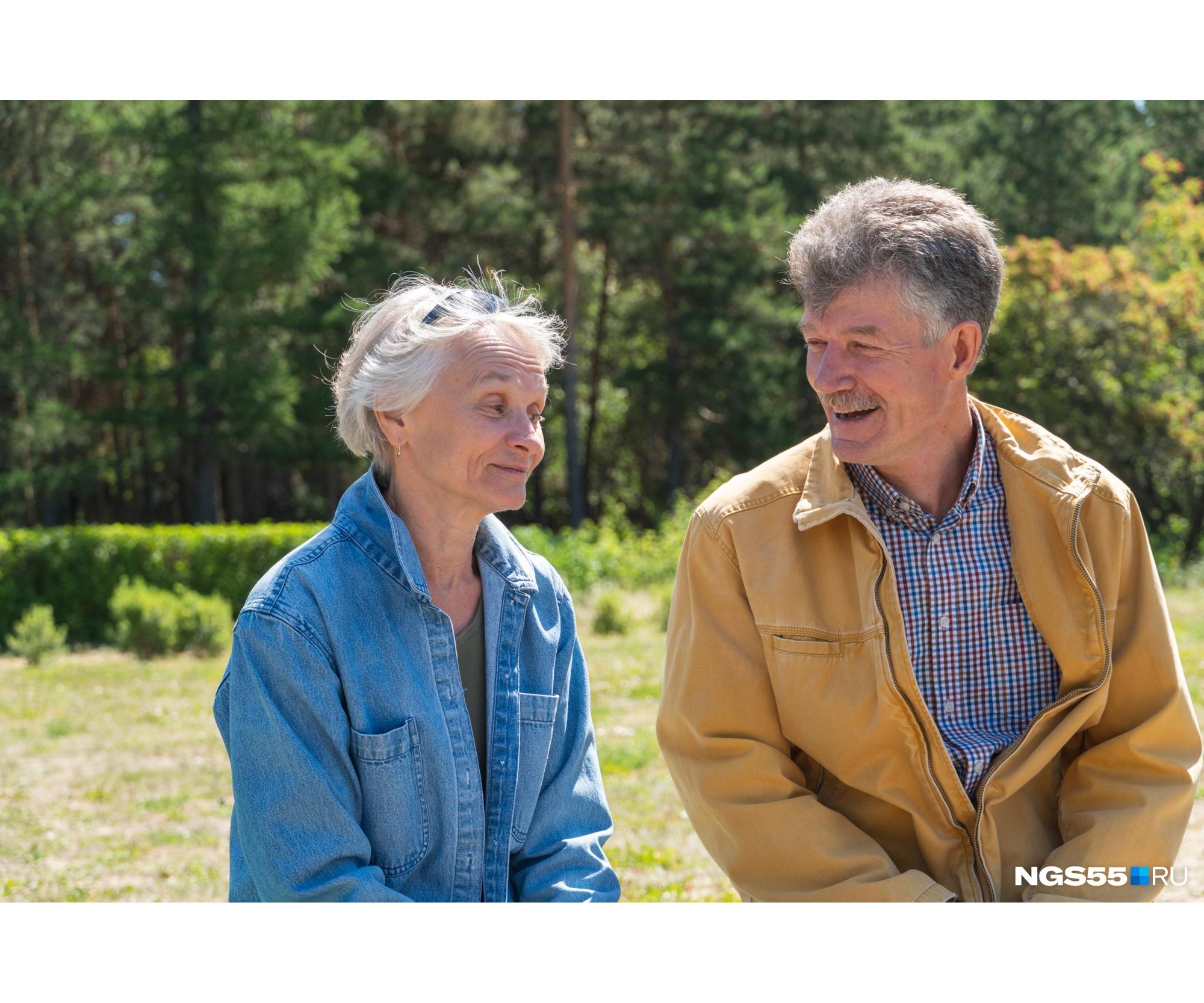 Супруги познакомились 47 лет назад на танцах