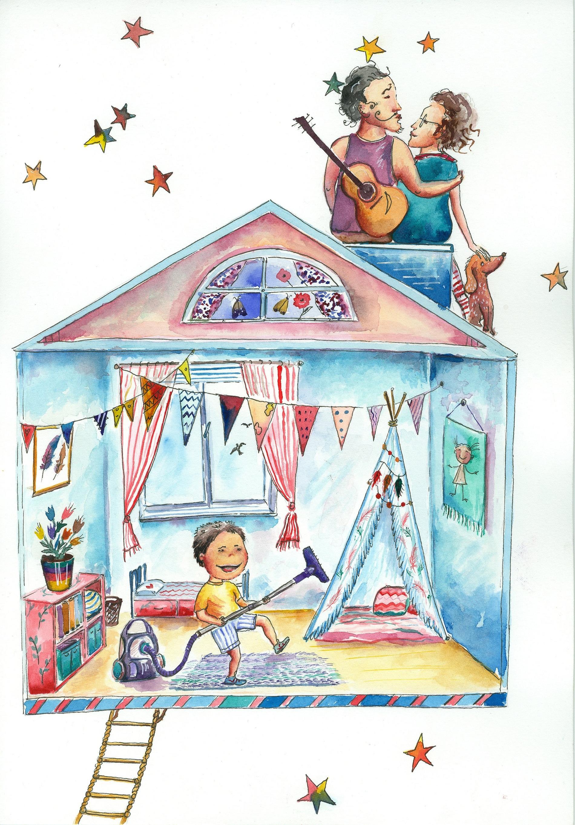 Иллюстрация к главе «Родители и уборка»