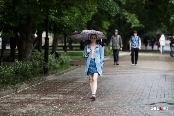В Ростове почти всю неделю будут идти дожди