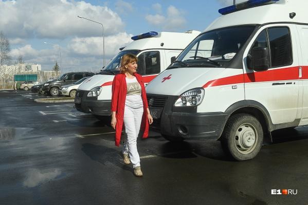 Альбина Даниленко работает на скорой помощи с 2006 года