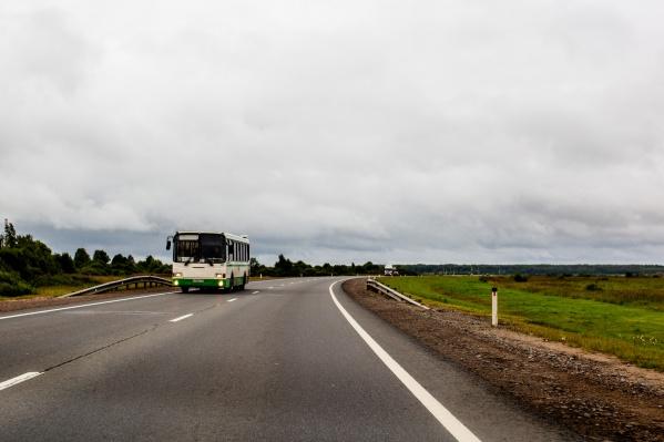 Из-за ремонта путепровода на трассе вводят ограничения