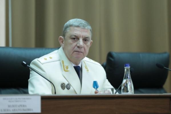 Юрий Баранов руководил прокуратурой с 2012 года