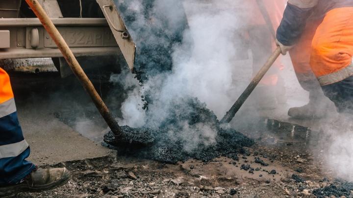 В Самаре ликвидируют выбоины на 60 улицах