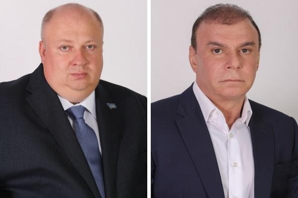 Самые богатые депутаты — Талех Махмудов и Захар Енджиевский (слева)