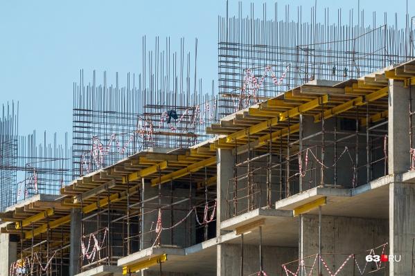 Жилые дома планируют построить за 5 лет