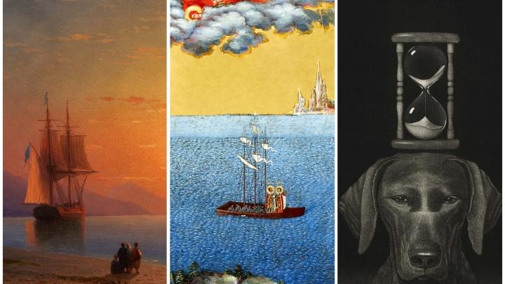 Повод залипнуть в смартфоне: в Екатеринбурге выпустили обои с картинами Айвазовского и Боголюбова