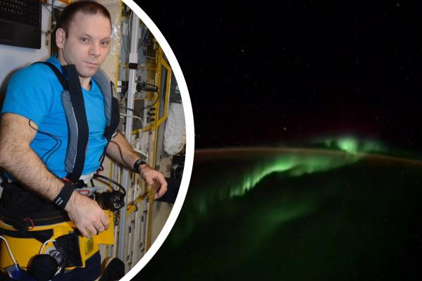 Необычные объекты Иван Вагнер заметил после того, как снялtimelapse-видео полярного сияния