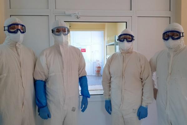 Тюменские медики говорят, что для работы в моноинфекционном госпитале Кургана есть всё необходимое
