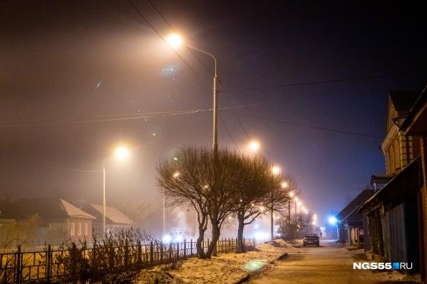 В Омске на протяжении нескольких дней стоит смог