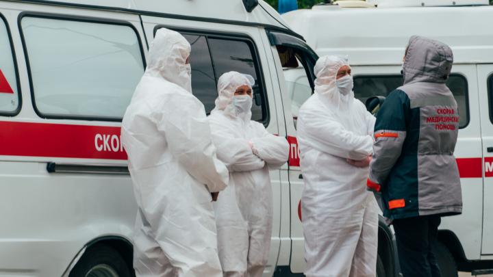 В Омской области впервые коронавирус диагностирован сразу у 132 человек