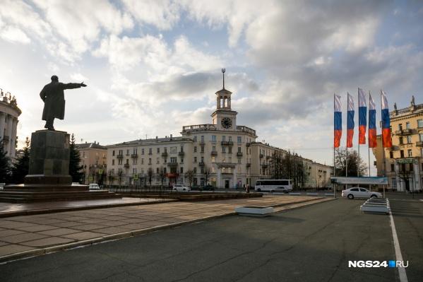В Железногорске с начала апреля заболела только тысяча человек