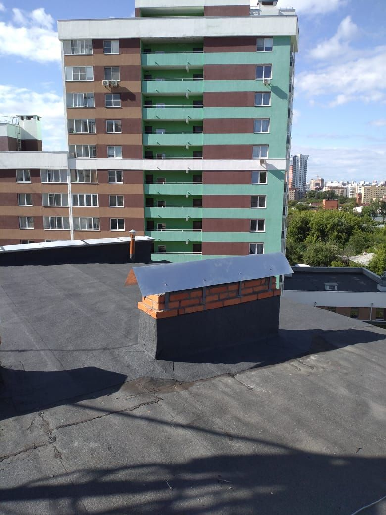 Крышу тоже отремонтировали