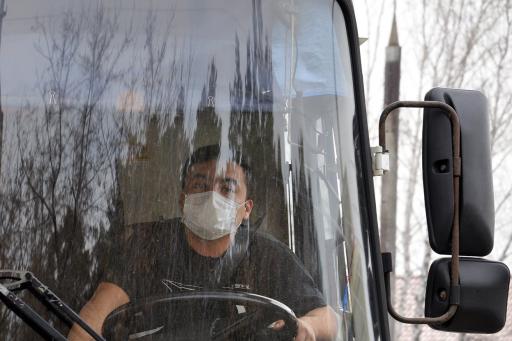В Кургане из-за коронавируса стало ездить меньше автобусов