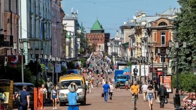 Карта заражений: в Нижнем Новгороде остался последний район, где меньше 1000 заболевших