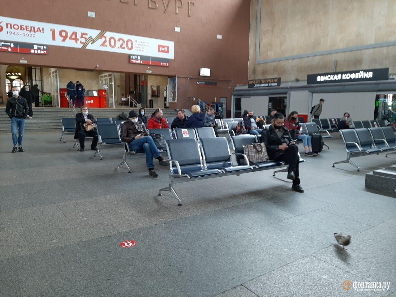 Московский вокзал<br><br>автор Ирина Корбат / «Фонтанка.ру»<br>