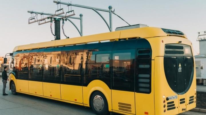 В Самаре электробус снимут с маршрута из-за поломки