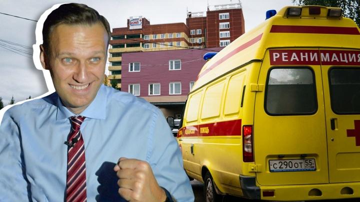 Врачи дали разрешение на транспортировку Навального в Европу