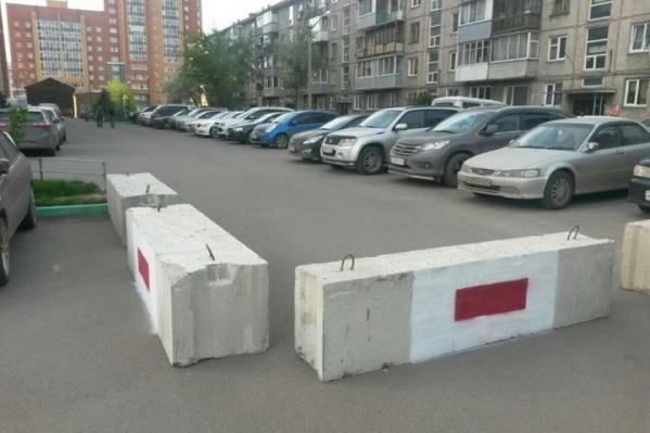 Бетонные блоки начнут устанавливать уже в апреле