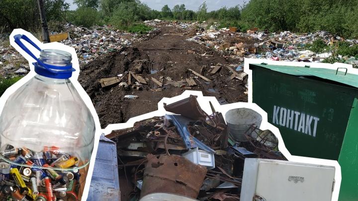 «Зима прошла — мусор опять на старом месте»: почему отходы стали главной проблемой на Кегострове