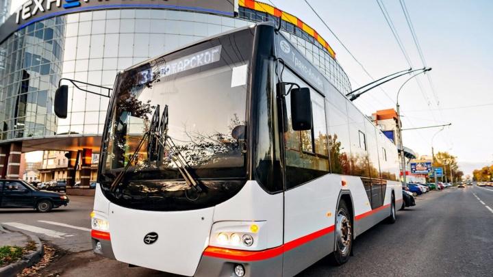 33 новых троллейбуса в Омске: всё, что мы о них знаем