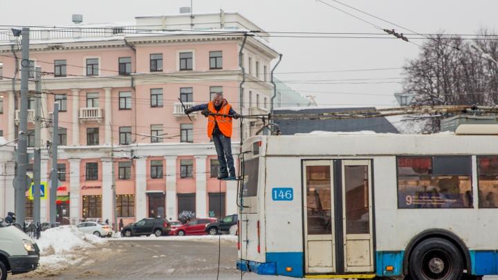 В Ярославле отменят популярный троллейбусный маршрут