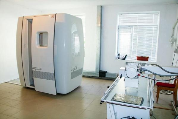 Новые флюорографы должны установить в больнице имени Вагнера в Березниках
