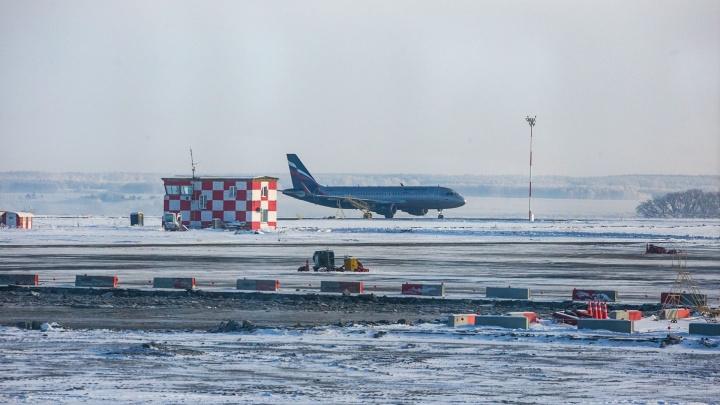 «Много пожарных и полиции»: из-за сообщения о бомбе в самолёте в аэропорт Челябинска едут силовики