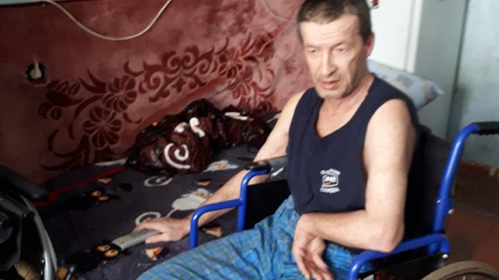 В Башкирии безногий инвалид ютится в комнате в общежитии без удобств