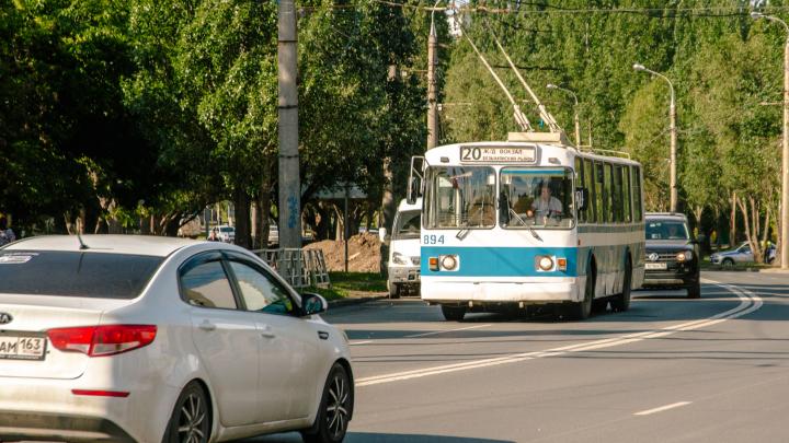 С кондиционерами! Мэру Самары предложили попросить троллейбусы у мэра Москвы