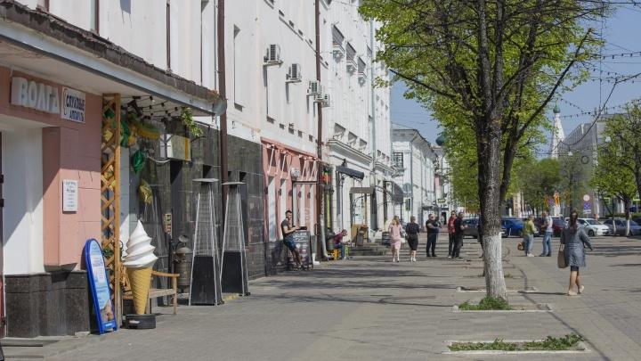 В Ярославле летние кафе освободили от платы за аренду