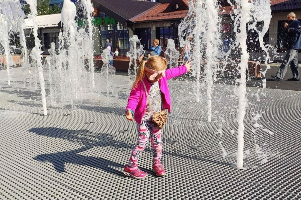 Новый фонтан «сухой» — водная чаща находится под землей