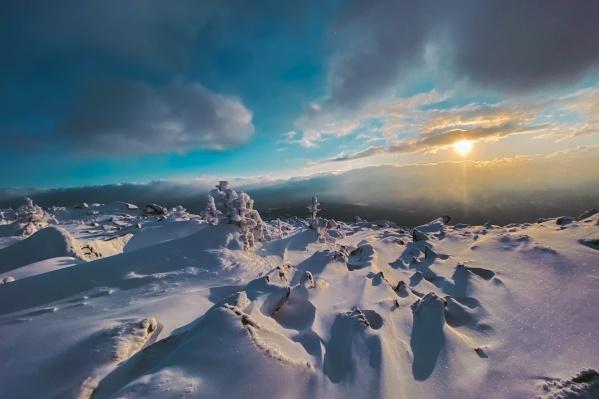 Станислав рассказал, что было очень красиво, но сильно холодно и ветрено