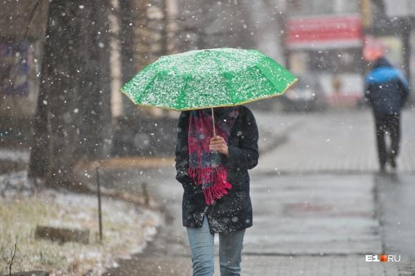 Ветер, дождь и мокрый снег — не очень приятный прогноз на выходные