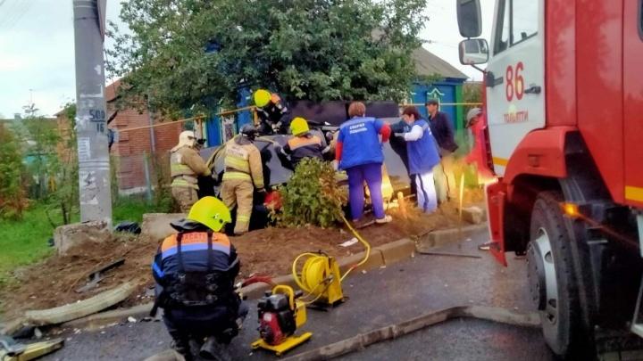 В Тольятти произошла авария с пятью пострадавшими