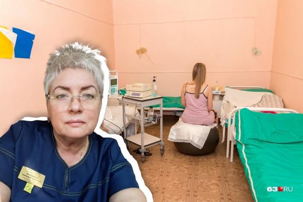 Светлана Плошкина — акушер-гинеколог высшей квалификации роддома больницы Семашко
