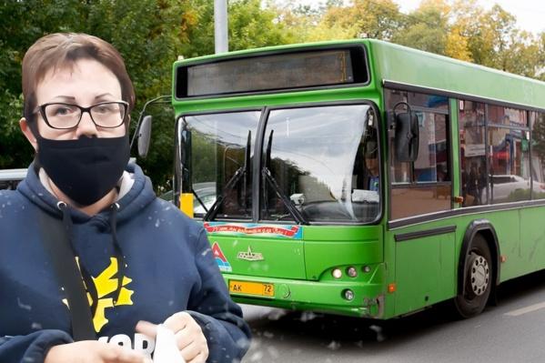 В одном из городских автобусов накануне вечером разразился скандал