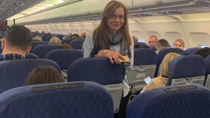 """«Стюардессы спросили: """"Садимся?""""»: врач рассказала, как спасла в самолёте челябинца с приступом"""