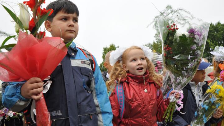 В Архангельске торжественные линейки разрешили только для первых и 11-х классов
