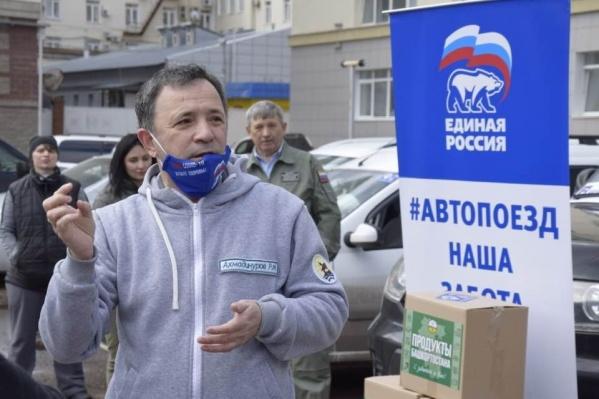 Рустем Ахмадинуров активно участвовал в волонтерской деятельности