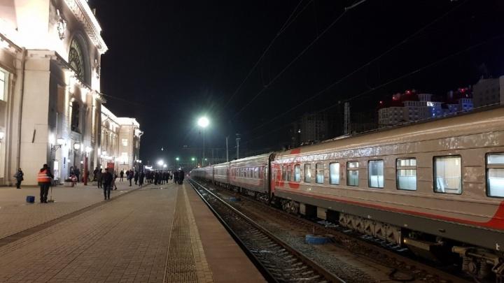 В Волгограде закрыли на карантин бригаду поезда с госпитализированной по коронавирусу пассажиркой