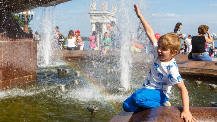 В Волгоград и область пришла 40-градусная жара