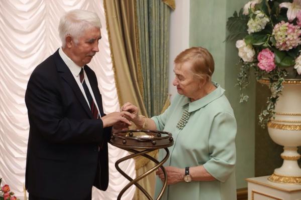 Валерий Калинин иТамара Кузнецова поженились на днях
