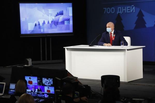 Губернатор считает, что кузбассовцы в среднем зарабатывают чуть больше 41 тысячи рублей