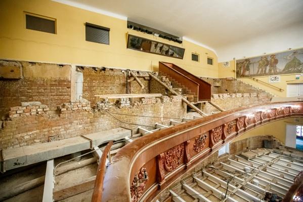 3 октября зрители увидят обновлённый зал