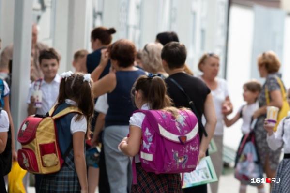 В школах Ростова будут учиться чуть более 110 тысяч детей