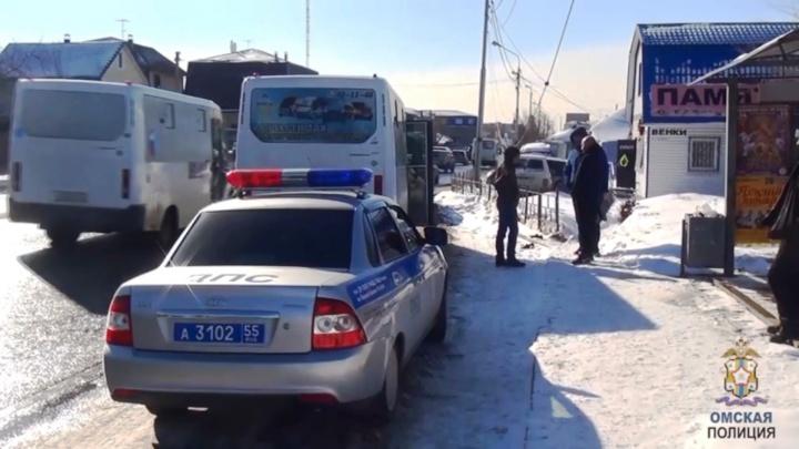 Полицейские сняли с рейса пьяного водителя маршрутки, который вёз слишком много пассажиров