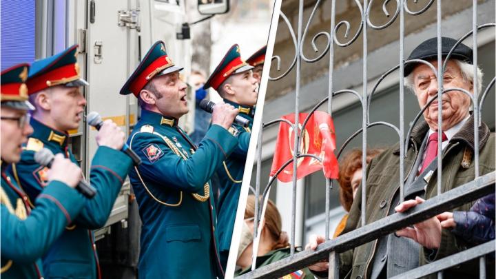 В Екатеринбурге под окнами ветерана исполнили «День Победы»